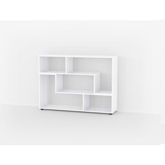 Купить At-105 Стеллаж, Белый (комплект) (59/120/29) на Mebli.Sale Недорого.