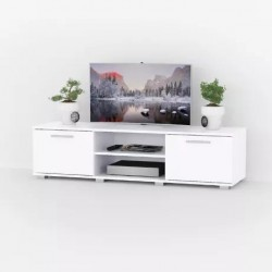 Тумба DiPortes  под TV At-106, белая (140/36/40)