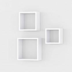 Полка Аt-27  (комплект из 3-х полок), белые (20, 25, 30/20, 25, 30/14)