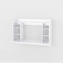 Стол компьютерный навесной Аt-43, белый (110/75/48)