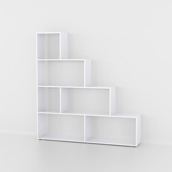 Купить Стеллаж-горка DiPortes At-57, белый (155/163/29) на Mebli.Sale Недорого.