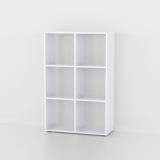 Купить Стеллаж Аt-58, белая (69/107/29) на Mebli.Sale Недорого.